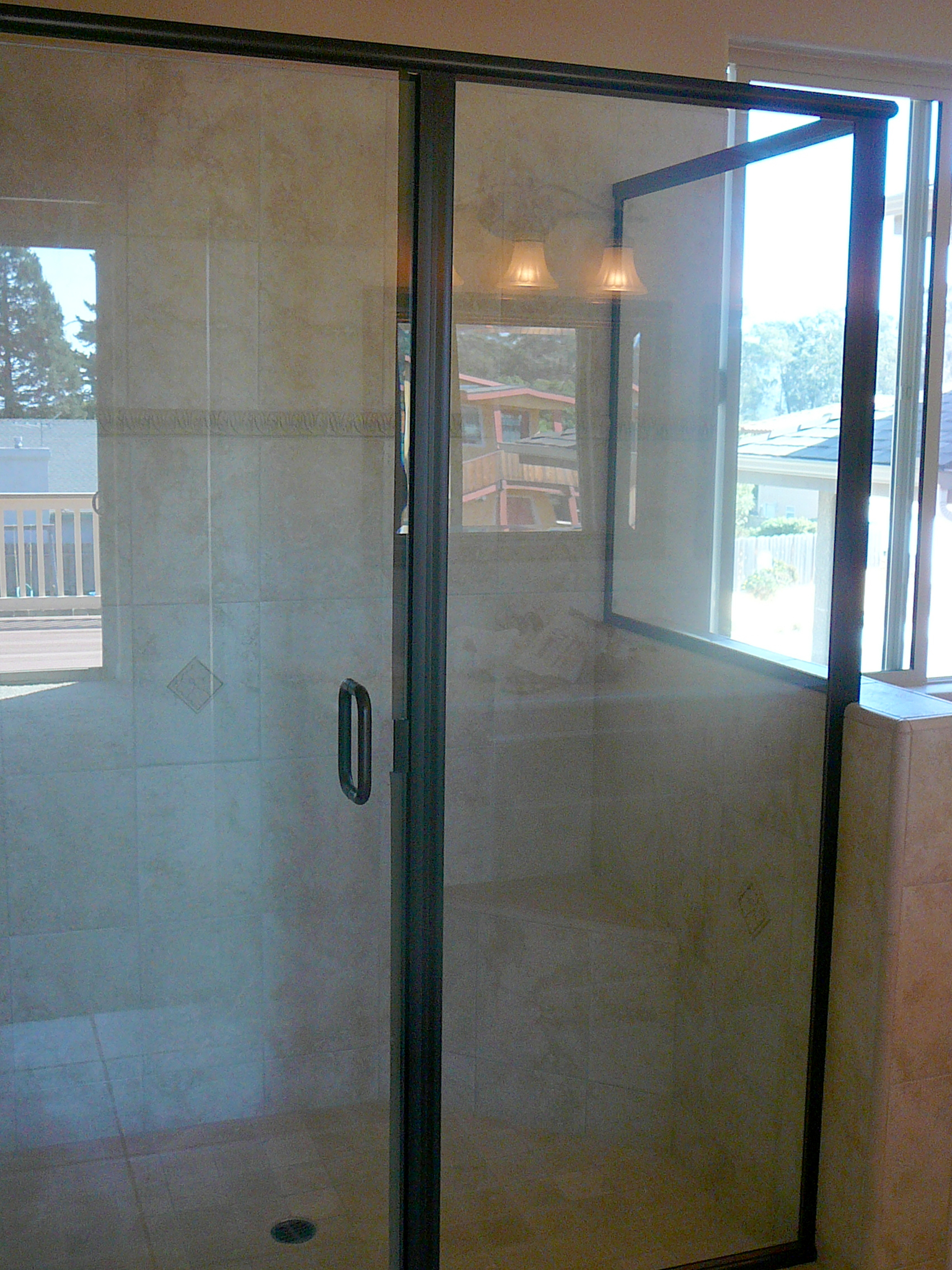 Framed Inline Shower Door