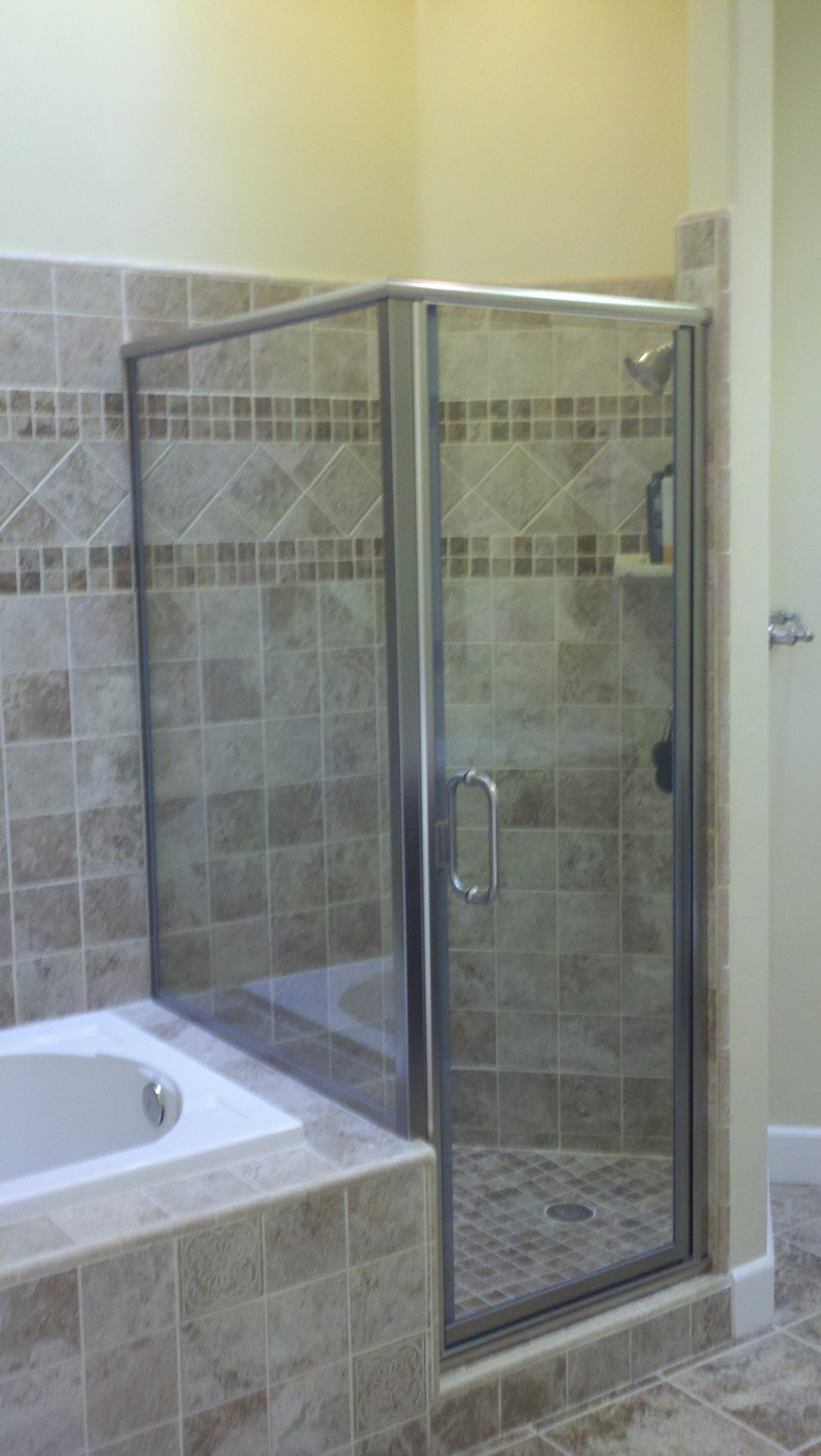 Framed 90 Degree Shower Door